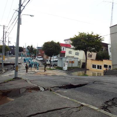 北海道胆振東部地震が残した深い爪跡