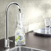 おしゃれなキッチン水栓でワンランクアップ!ドイツ生まれの海外水栓グローエが人気です